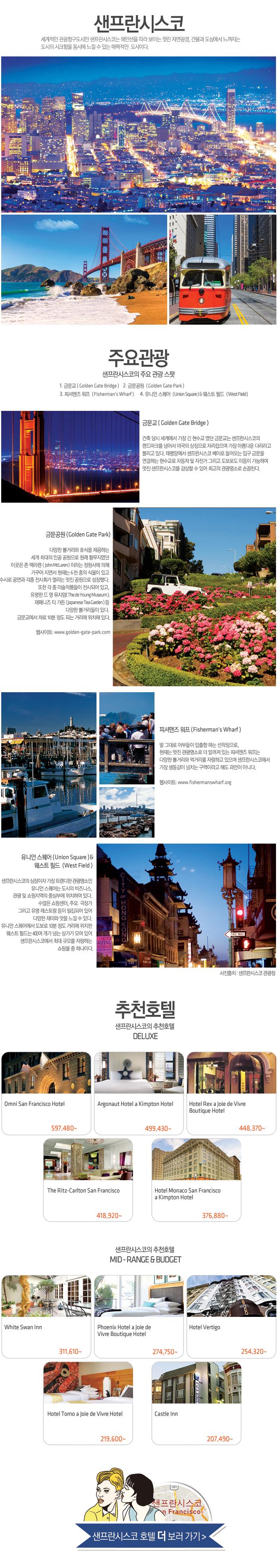세계적인 관광항구도시인 샌프란시스코