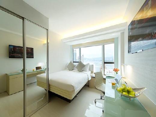 호텔이미지_iResidence_bedroom